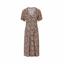 Jigsaw Mini Sunbleached Floral Dress