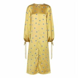 Olivia Von Halle Margeaux Jagger Printed Silk Maxi Dress