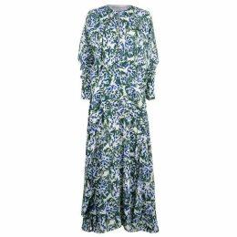 Victoria by Victoria Beckham Floral Dress