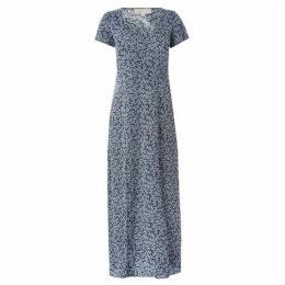 MICHAEL Michael Kors High Waist Slit Dress