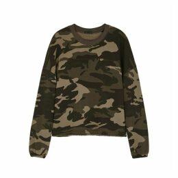 ATM Anthony Thomas Melillo Camouflage-print Cotton Sweatshirt