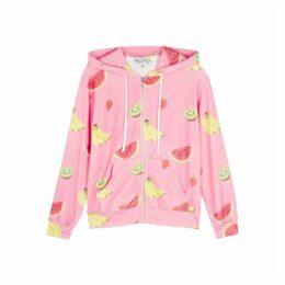 Wildfox Tutti Fruity Venice Jersey Sweatshirt