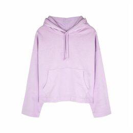 Acne Studios Lilac Hooded Cotton Sweatshirt