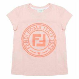 Fendi Pink Logo T-shirt
