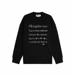 Stella McCartney X The Beatles Embroidered Cotton Sweatshirt
