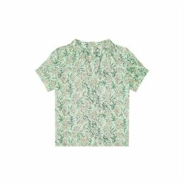 Jigsaw Sprig Floral Print Blouse