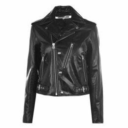 McQ Alexander McQueen Buckle Biker Jacket