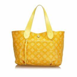 Louis Vuitton Yellow Tote Bag