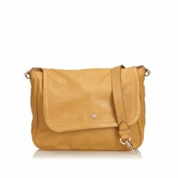 Mulberry Brown Leather Crossbody Bag