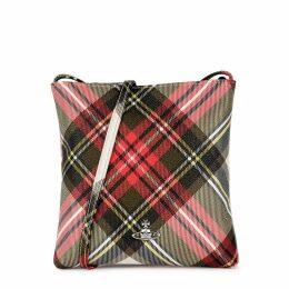 Vivienne Westwood Derby Tartan-print Cross-body Bag
