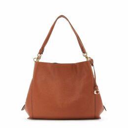 Coach Dalton Brown Leather Hobo Bag