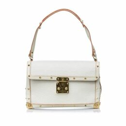Louis Vuitton White Suhali Laimable Bag