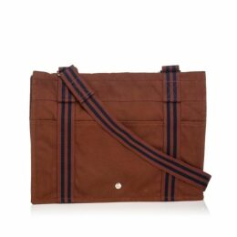 Hermes Brown Fourre Tout Besace Mm