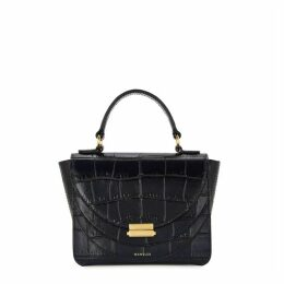 Wandler Luna Mini Crocodile-effect Cross-body Bag