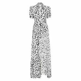 Self Portrait Leopard Print Maxi Dress