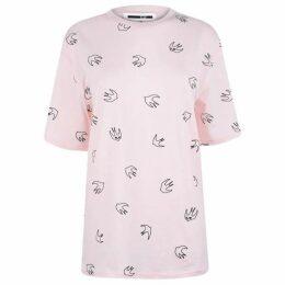 McQ Alexander McQueen Monster All Over Print T Shirt