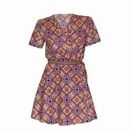 relax baby be cool - Short Sleeve Wrap Dress