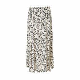 Baukjen - Lexie Skirt In Stone Dash Print