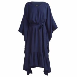 GISY - Water Navy Kaftan Dress