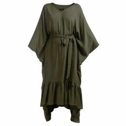 GISY - Tree Moss Green Kaftan Dress