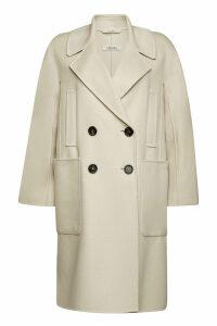 S Max Mara Aronaci Virgin Wool Coat