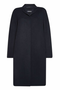 S Max Mara Adanew Coat in Virgin Wool and Angora