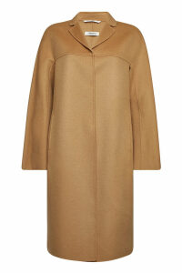 S Max Mara Adanew Coat in Virgin Wool and Angora