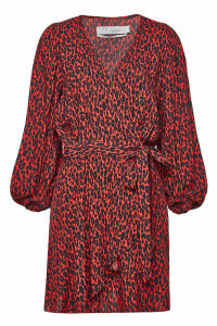 Iro Boina Printed Wrap Dress