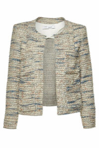 Iro Belugo Tweed Blazer with Wool and Cotton