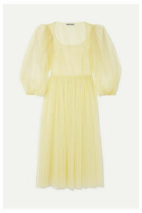 Molly Goddard - Bronwyn Tulle Midi Dress - Green