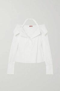 Miu Miu - Open-back Lace-trimmed Sequined Crepe Midi Dress - Black
