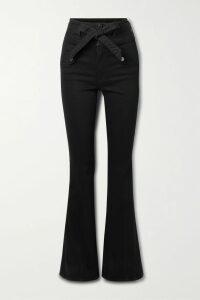 Victoria, Victoria Beckham - Ruffled Printed Crepe Midi Dress - Green