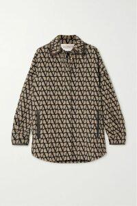 Alexandre Vauthier - Draped Stretch-velvet Mini Skirt - Black