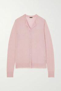 Balenciaga - Belted Camel Hair-blend Coat - Fuchsia