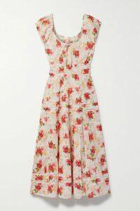 Michael Kors Collection - Wrap-effect Leopard-print Silk Crepe De Chine Dress - Leopard print