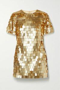 Alexandre Vauthier - Off-the-shoulder Ruched Velvet Mini Dress - Black