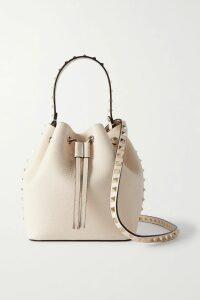 Balenciaga - Asymmetric Paneled Printed Twill Dress - Blue