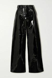 Brock Collection - Belted Floral-print Silk-georgette Dress - Pastel pink