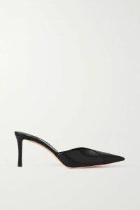 Sies Marjan - Tamiko Draped Wrap-effect Satin-twill Midi Skirt - Navy