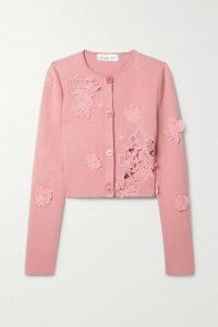 Mary Katrantzou - Orla Embroidered Cotton-blend Poplin Wrap Top - White