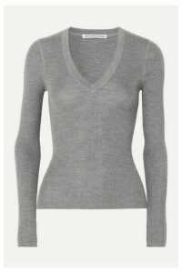 alexanderwang.t - Merino Wool Sweater - Light gray