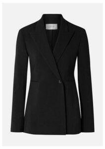 The Row - Ciel Wool-blend Crepe Blazer - Black