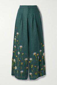Michael Kors Collection - Belted Snake-print Silk-crepe Midi Dress - Snake print