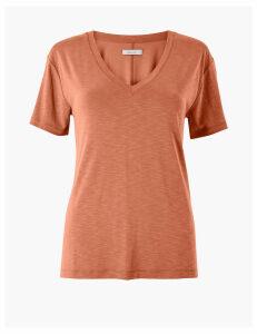 Per Una Modal V Neck T-Shirt