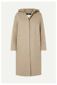 Mackintosh - Chryston Hooded Bonded Cotton Trench Coat - Beige