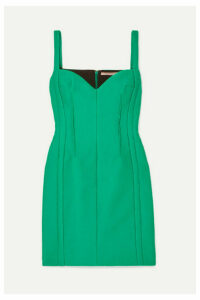 Emilia Wickstead - Cloqué Mini Dress - Emerald