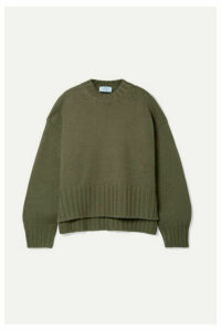 Prada - Cashmere Sweater - Army green