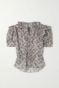 Missoni - Mare Striped Crochet-knit Mini Dress - Pink
