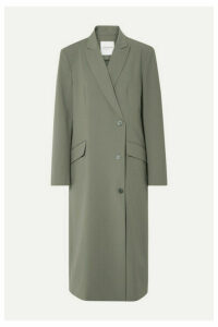 LE 17 SEPTEMBRE - Oversized Woven Coat - Army green