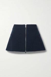 SAINT LAURENT - Strapless Ruched Sequined Velvet Mini Dress - Black